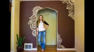 Henna Wall Designs Mehndi Wall Paint I Moved