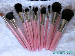 review stylemaster pro 15 pieces makeup brushes
