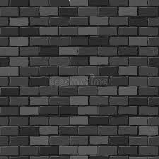 black brick texture. Download Seamless Texture. Black Brick White Wall. Stock Illustration - Of Built, Texture L