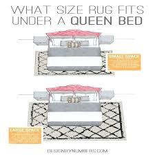 5x8 rug under queen bed rug under queen bed new bedroom enchanting what size rug for 5x8 rug under
