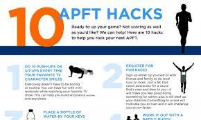 infographic 10 apft hacks