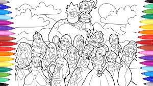Children especially love watching these films, and they also want disney characters on their dinner plates. Ralph Breaks The Internet Wreck It Ralph 2 Coloring Pages For Kids Disney Princesses Coloring Pages Youtube