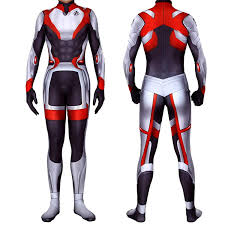 The Realm Wetsuit Size Chart Lycra Spandex Bodysuits Endgame Suit Quantum Realm Tech Suits Superhero Cosplay Costume
