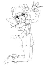 Coloring Pages Chibi Trustbanksurinamecom