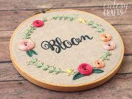 35 Free Embroidery Patterns Cutesy Crafts