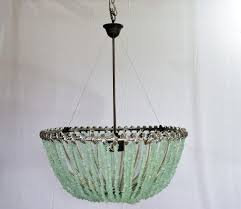 sea glass chandelier. Custom Made François - Au Courant Interiors Llc- 20\ Sea Glass Chandelier S