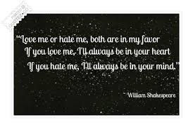 Love Me Or Hate Me Quotes Amazing Love Me Or Hate Me Literary Quote QUOTEZ○CO