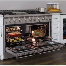Professional Ovens For Home Aga Apro48agss 48 Inch Professional Series Gas Freestanding Range