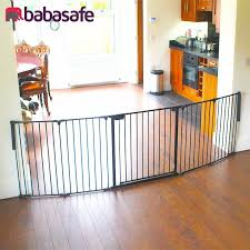 5 panel extra wide pet gate