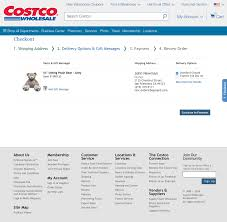 Costco 57 Examples Of Delivery Shipping Methods Checkout