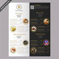 Restaurant Menu Design Templates Menu Vectors Photos And Psd Files Free Download