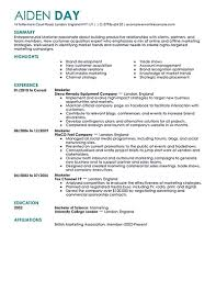 Marketing Resume Will Be All About On How A Person Can Make The