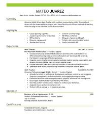 Free Resume Templates Good Layouts Examples Of Resumes Within
