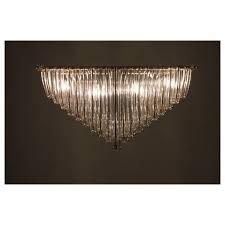 italian mid century murano chandelier attributed to camer glass circa 1960s
