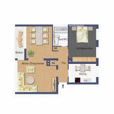 Verkauft Geräumige 2 Zimmerwohnung Mit Süd Balkon In Grüner
