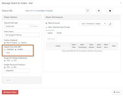Upload Size Limit Option Filecloud Filecloud Support