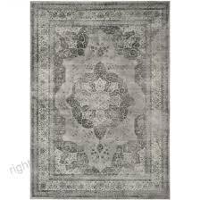 safavieh vintage kerman gray indoor distressed area rug common 11 x 15