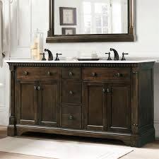 Legion Bathroom Vanity Legion Furniture Wlf6036 60 60 Double Sink Vanity In Antique