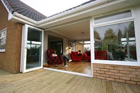 upvc tri fold patio doors