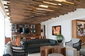 Small Picture The Decorative Ceiling Design In This Living Room Will Get Your