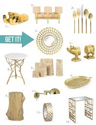 Small Picture Home Decor Trend A Touch of Gorgeous Gold Stencil Stories