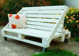 pallet furniture garden. Creative And Easy Pallet Furniture Plans : Bench Garden Ideas DIY Wood