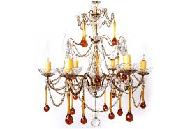 vintage italian chandelier c 1930s