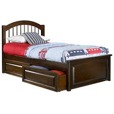 twin beds with storage.  With Windsor Twin Bed W Raised Panel Footboard And Storage Drawers   ATLWTBRPFSD  Throughout Beds With