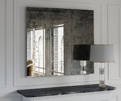 3 mirror panels 45 x 14 custom antiqued