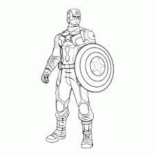 Leuk Voor Kids Captain America Civil War Kleurplaten