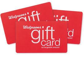 walgreens gift card rechargable prepaid