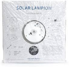 Hipvoorbuiten Solar Tuinverlichting Lampion Groot 40 Stuks