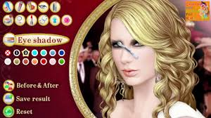 taylor swift gothic makeup video game makeup game taylor swift song
