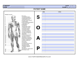 Medical Office Note Template Medical Office Forms