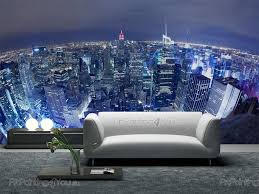 New York City Wallpaper For Bedroom Wall Murals Posters New York Panoramic View Mcc1088en