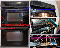 common steps for any oven control board removal
