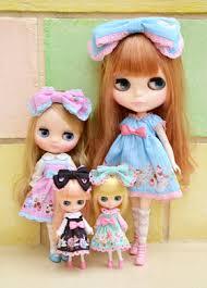 Blythe Doll Size Chart