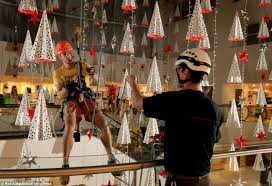 Christmas counting: More than eight miles of decorations including 250,000  lights, 5,000 stars,