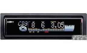 sony xplod cdx m600 cd receiver cd changer controls at sony xplod cdx m600 front