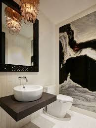 medium size of black and white bathroom crystal chandelier wall mount vanity round basin wall mount