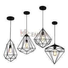 vintage metal hanging caged led pendant lights industrial style adjule led ceiling pendant lamp indoor pendant light plug in hanging lamps industrial