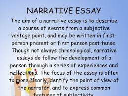 what are the different kinds of narrative essay types of narratives enotes com