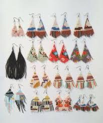 Flower earrings <b>Beaded</b> earrings Abstract earrings Mismatched ...