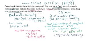 ap us history long essay example video khan academy current time 0 00total duration 10 30
