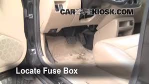 interior fuse box location mazda tribute mazda interior fuse box location 2001 2006 mazda tribute