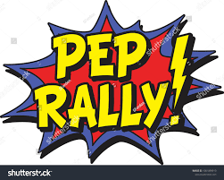 Pep Rally Comic Burst Stock Vector (Royalty Free) 1061869913