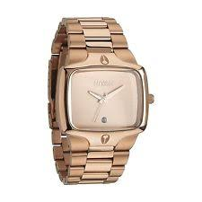 mens nixon watches player nixon the player rose gold tone mens watch a140 897
