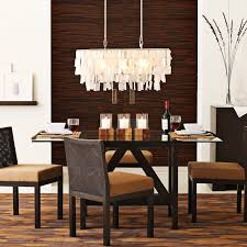 stunning rectangular dining room lights with chandelier in rectangle remodel 5