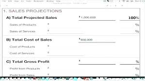 projected profit and loss free 4 year sales projection template for excel 3 profit