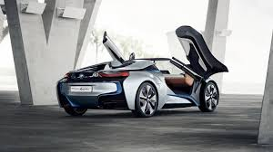 bmw i8 spyder engine.  Engine 2012 BMW I8 Concept Spyder Rear To Bmw I8 Engine